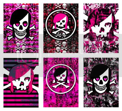 Emo_skull_collection