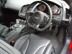 Audi R8 dash