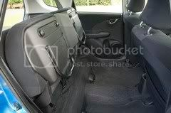 Honda Jazz seats