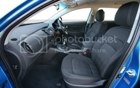 2011 Kia Sportage cabin