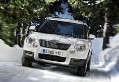 Skoda Yeti in snow