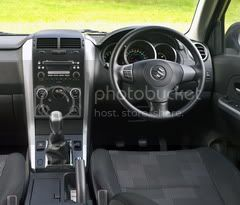 Suzuki Grand vitara 3dr cabin