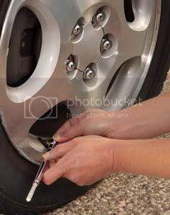 Tyre-checking